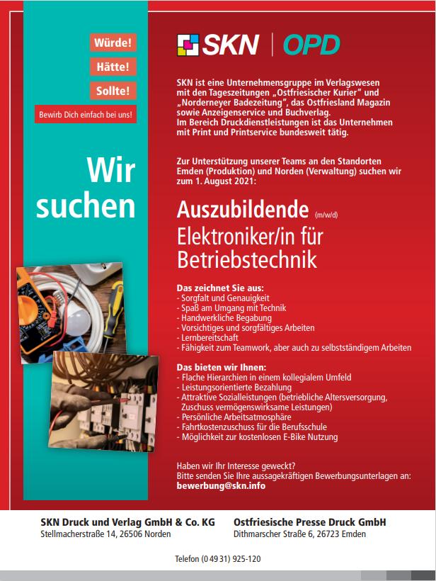 Stellenangebote_Azubi_Elektroniker Betriebstechnik